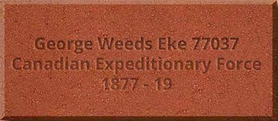 George Weeds Eke