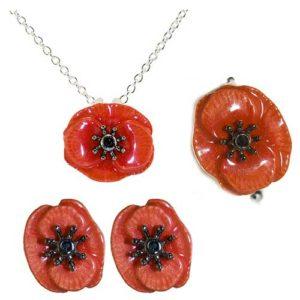 Shorncliffe Poppy Jewellery.