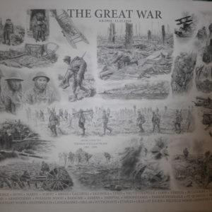 THE GREAT WAR by Patsy Frankson, International Artist