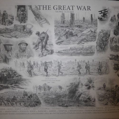THE GREAT WAR by Patsy Frankson, International Artist
